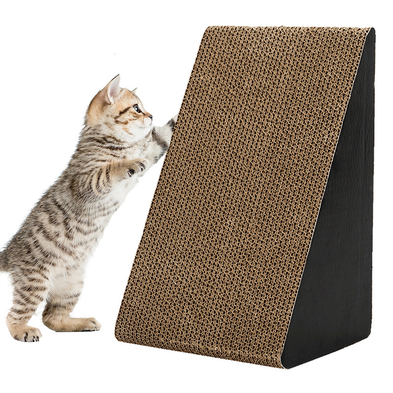 <font><b>Cat</b></font> Claw Board Triangle Furniture <font><b>Cat</b></font> Scratcher Board <font><b>Cat</b></font> <font><b>Large</b></font> Claw Grinder <font><b>Cat</b></font> <font><b>Tree</b></font> Scratching Post Pet <font><b>Cat</b></font> Gatos Toy image