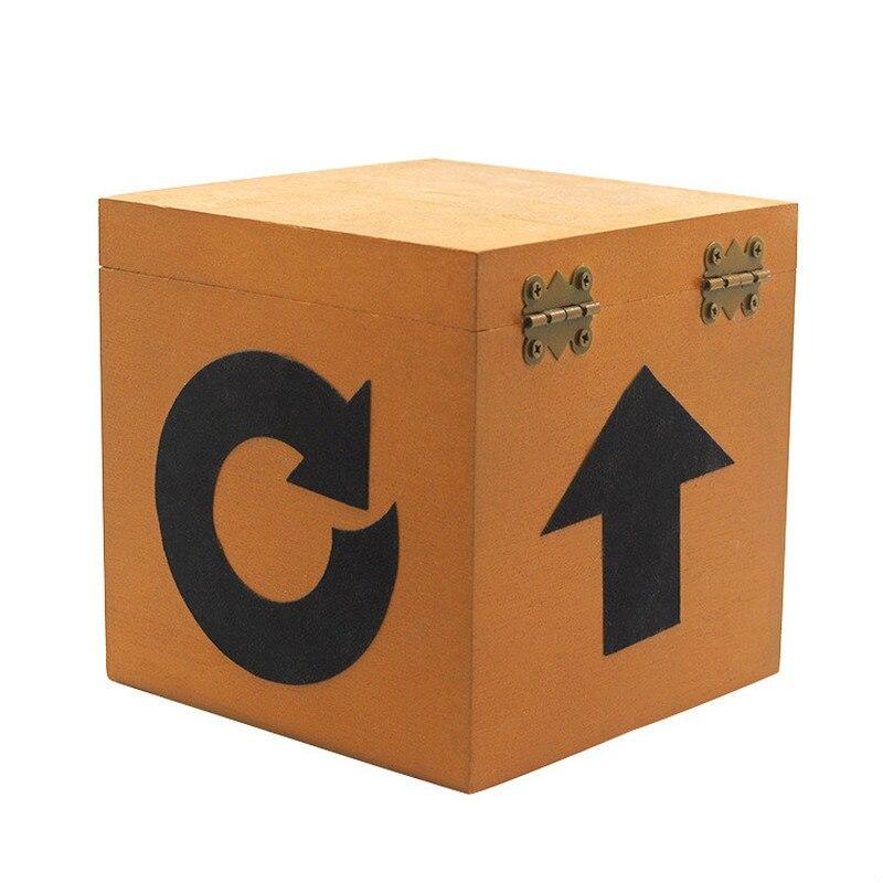 Mystery Box Magic Tricks Fun Stage Magic Gimmick Props Illiusion Mentalism Classic Toys Surprising Little Box Magie Magician