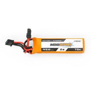 Image 4 - 3 팩 CNHL MiniStar HV 450mAh 7.6V 2S 70C Lipo 배터리 (XT30U 플러그 포함)
