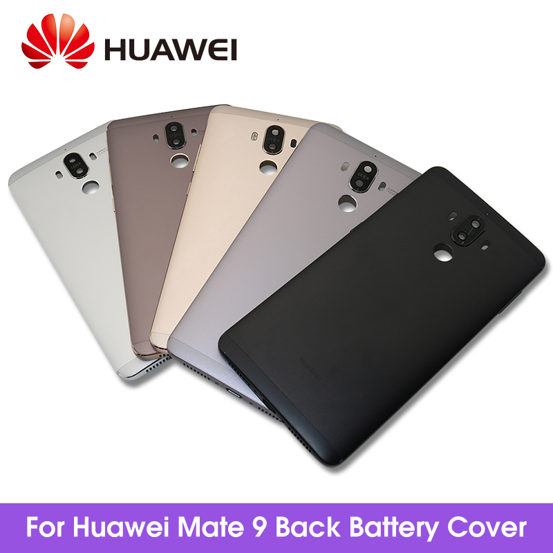 For <font><b>Huawei</b></font> Mate 9 <font><b>Battery</b></font> <font><b>Cover</b></font> + Camera Glass Lens For <font><b>Huawei</b></font> Mate 9 Back Door Replacement Repair Parts image