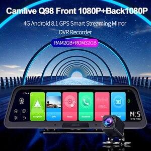 10Inch 4G+WIFI Dashboard Car C