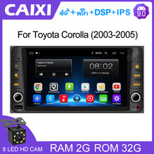 Caixi 2 din android 9.0 2gb ram rádio do carro multimídia player 2 usb para toyota vios coroa camry hiace previa corolla rav4