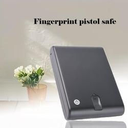 Material de acero laminado en frío pistola de huellas dactilares pistola segura caja Os120B seguro de pistola de huella digital pistola segura de huellas dactilares