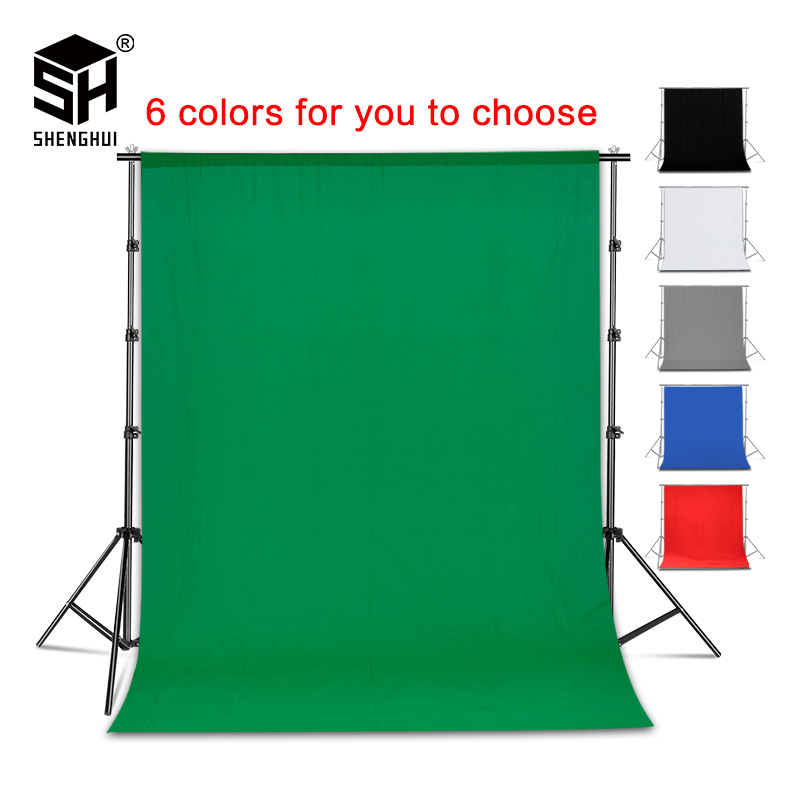 Photography Background Chromakey Video Green-Screen Photo-Studio Cotton Muslin