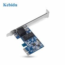Kebidu PCI Express PCI E Network Card 1000Mbps Gigabit Ethernet 10/100/1000M RJ 45 LAN Adapter Converter Network Controller
