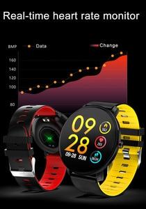 Image 3 - BINSSAW Full Touch Screen  IP68 Waterproof Multi function Sports Smart Bracelet Heart Rate Tracker Blood Pressure Smartwatch