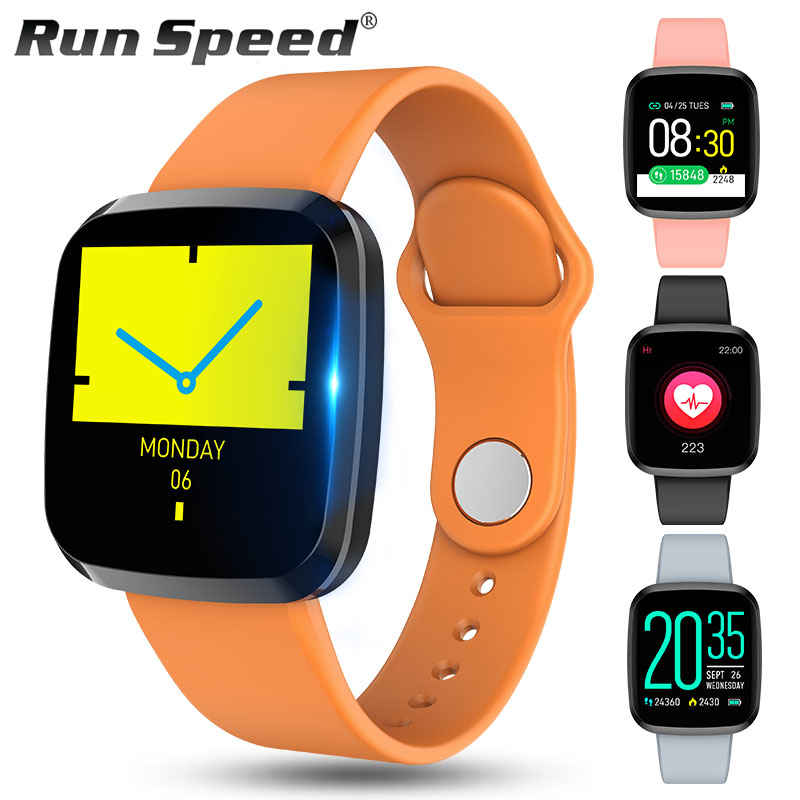 P3 Smart Watch Bluetooth Bracelet IP67 Waterproof Sports Watch Heart Rate Blood Pressure Fitness Tracker Watch for ios Android