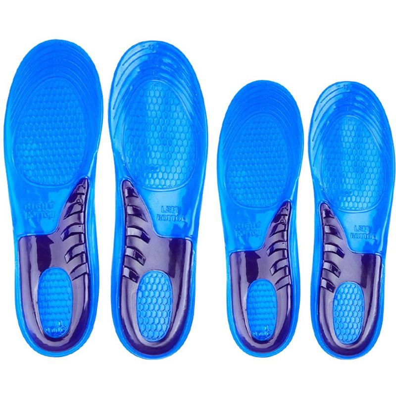 Worker Boots High Quality Comfort Arch Support Massaging Gel Silicon Insole