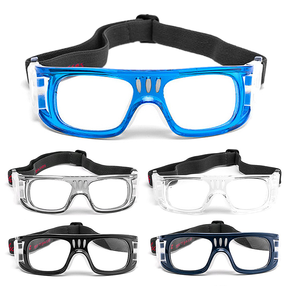Anti-fog Basketball Protective Glasses Sports Safety Goggles Football Soccer Eyewear Plain Glasses Eye Protector for Men Women