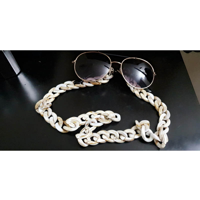 Image 5 - 10 pcs Fashion Acrylic Candy Color Reading Glasses Chain For Women Cords Beaded Eyeglass Lanyard Hold Straps Sunglasses ChainEyewear Accessories   -