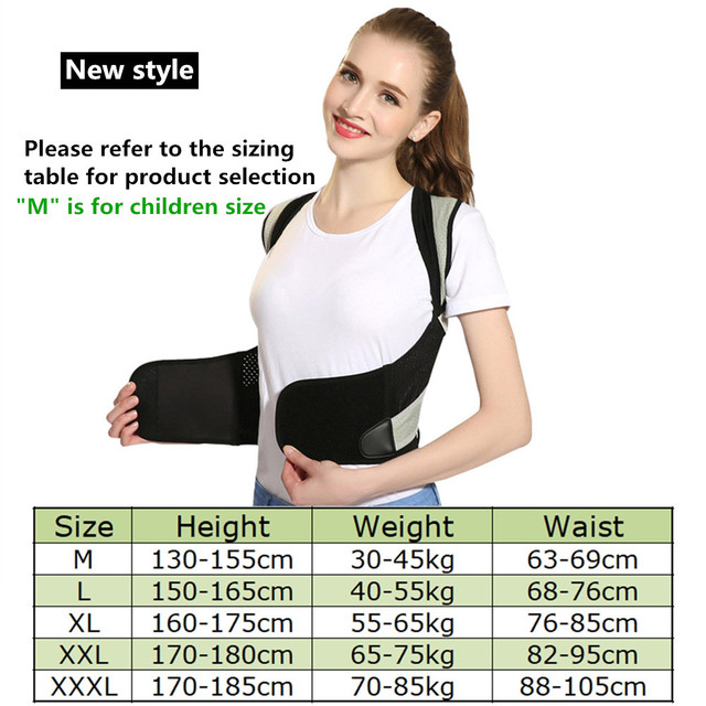 Back Posture Corrector Therapy Corset Spine Support Belt Lumbar Back Posture Correction Bandage For Men Women Beauty and Health Personal Care Appliance