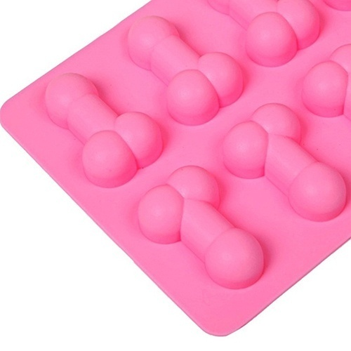Bridal Show Decor Chocolate Jelly Mould Night Party Ice Tray Fondant Cake Mold for Wedding Hen Bachelorette Party Decorations in Party DIY Decorations from Home Garden