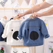 Children Clothes 2020 Spring Autumn Cartoon Baby Boys Jacket Pattern Denim Jacket For Boys Kids Outerwear For Baby Coat Jacket best selling baby outerwear for spring autumn retail children s coat boys hoodies jackets kids cartoon clothes