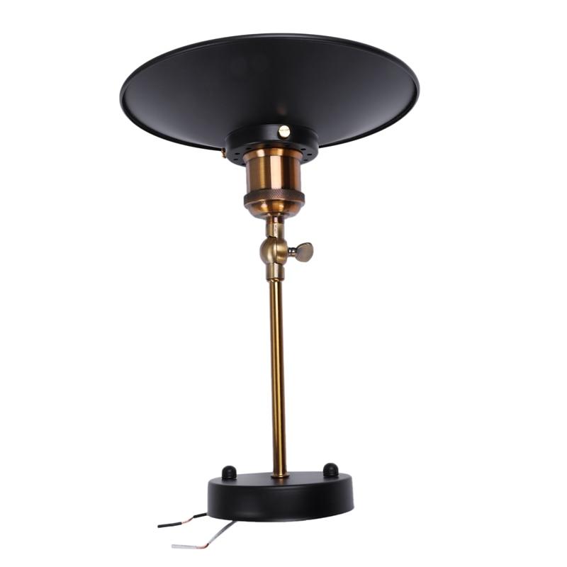 Işıklar ve Aydınlatma'ten Kolye ışıkları'de 2 Set siyah Retro endüstriyel Edison duvar lambası/kolye ışık tavan lambası antika kaplama pirinç kolu Metal lambası title=