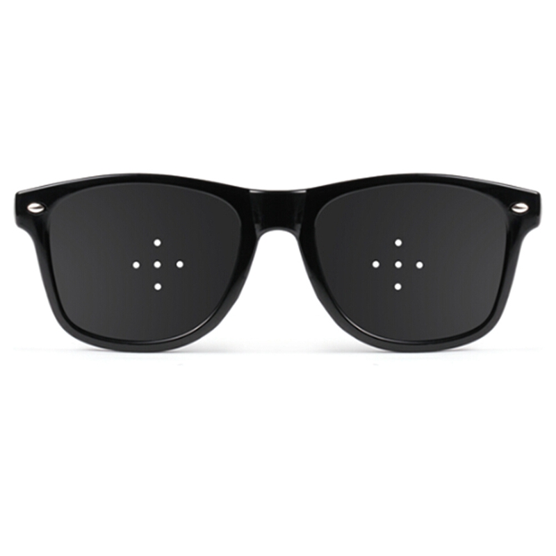 High Quality New General Purpose Vision Care Corrective Improve Pinhole Small Anti-fatigue Eye Protection Glasses