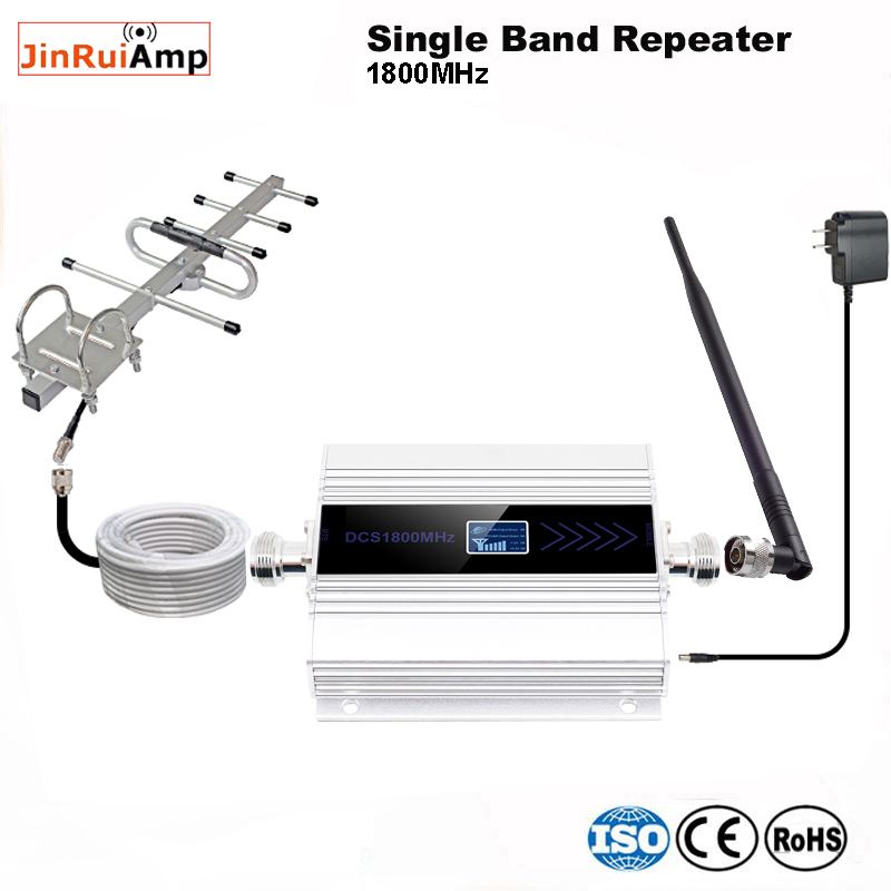 4g Lte Signal Booster Dcs 1800 Mhz Repeater Gsm 4g Mobile Signal Repeater 1800mhz Cellular Signal Amplifier Band 3