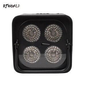 Image 5 - Djworld 4x18 w rgbwa uv led uplight bateria sem fio luz par wifi & ir controle remoto dmx uplighting dj lavagem discoteca casamento palco
