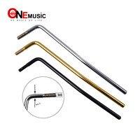 10pcs Screw in Electric Guitar Tremolo Arm Whammy Bar Thread 6MM Black gold chrome