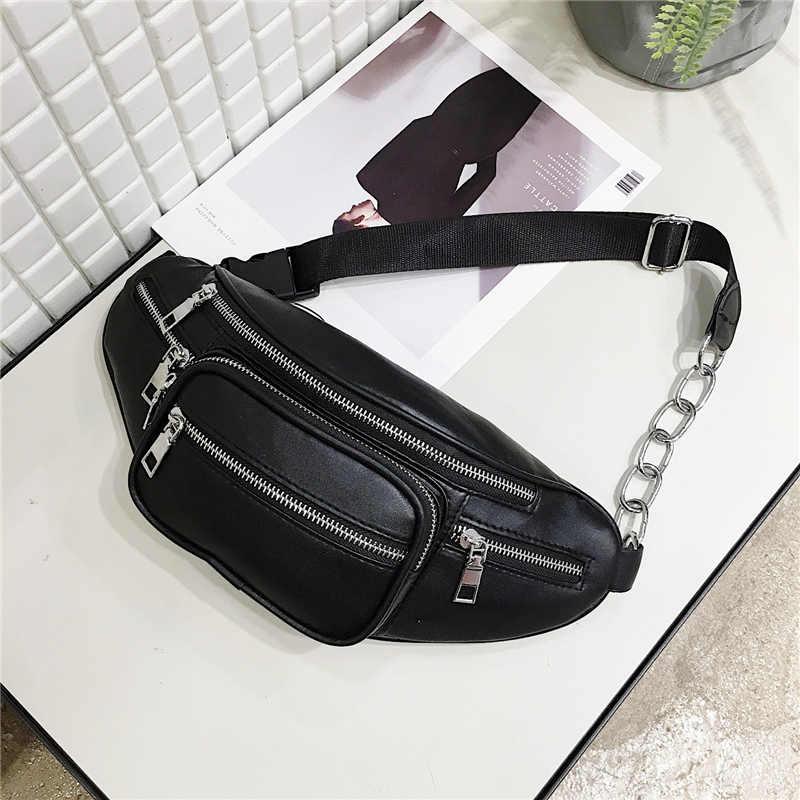 ベルトバッグ女性枕固体ファッション pu レザーミニメッセンジャー新しいレターコインウエストファニーパック