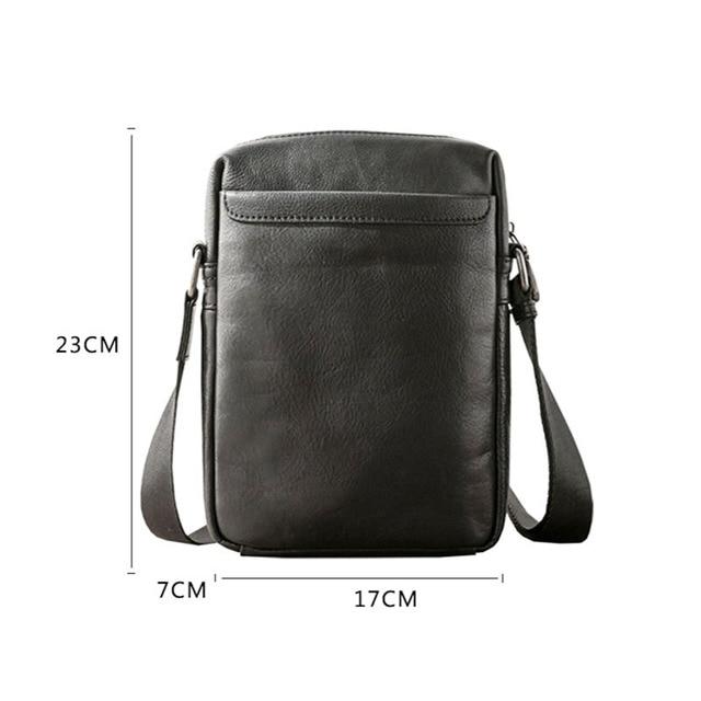 AETOO кожаная вертикальная сумка для мужчин, Повседневная кожаная сумка через плечо, молодежная сумка