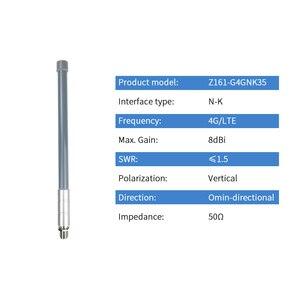 Image 2 - 3G 4G LTE dış mekan omni anten N Dişi Su Geçirmez Sinyal Güçlendirici Baz Istasyonu Fiberglas Çok Yönlü Anten Z161 G4GNK35