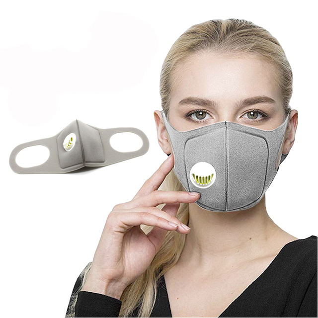 2020 new Running Cycling Mask 3D mask Antiviral Sports Face Mask Carbon PM 2.5 Anti-Pollution stock