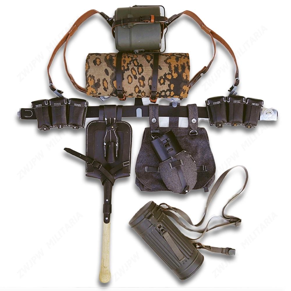WWII WW2 немецкая армейская Элитная солдатская Экипировка 98K сумка для полевого снаряжения посылка комбинированное военное снаряжение| |   | АлиЭкспресс