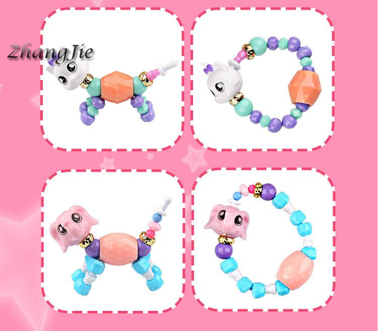 Surprise Chain Elves Baby Children's Toys Handmade Beads Magical Diy Magic Animal Variety Bracelet Funny Gadgets Education Gift