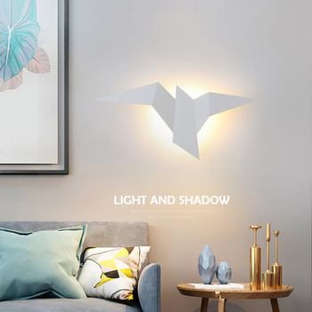 Nordic Led  Birds Wall Lampen 6