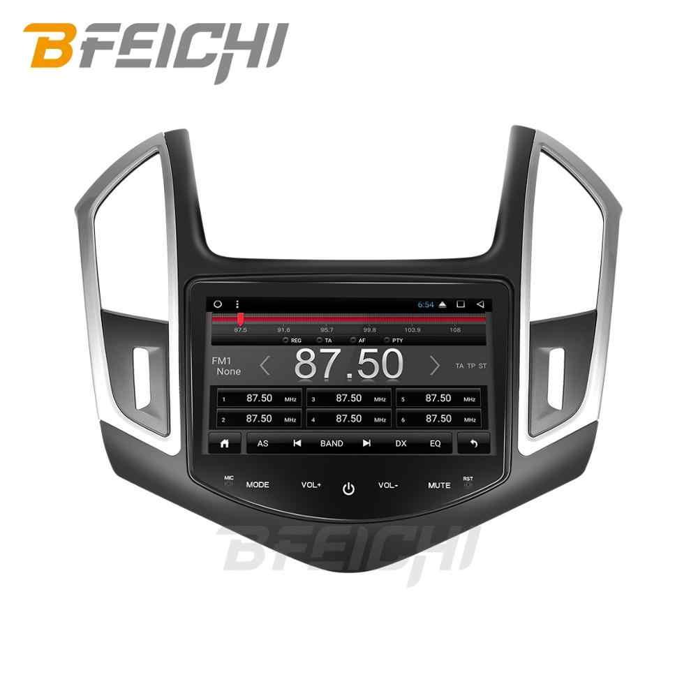 Android 9.0 PX30 Mobil Dvd GPS Player untuk Chevrolet Cruze 2013 2014 2015 dengan Radio GPS Navigasi Dukungan Steering Wheel