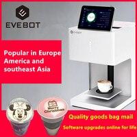 EVEBOT eb-ft4 אמנות קפה מדפסת לאטה מדפסת אוטומטי מדפסת אמנות משקאות מזון selfie קפה ו WIFI מדפסת
