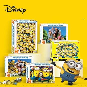 Disney Puzzle Minions Cartoon Children'S Puzzle Early Learning 100 Pieces 200 Pieces 500 Pieces 1000 Pieces Adult 3d Puzzle шарф pieces pieces pi752gwccoj2