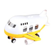 Music Track Toy Airplane Model Taxiing Big Airplane Early Education Light Music Storage Toy(China)