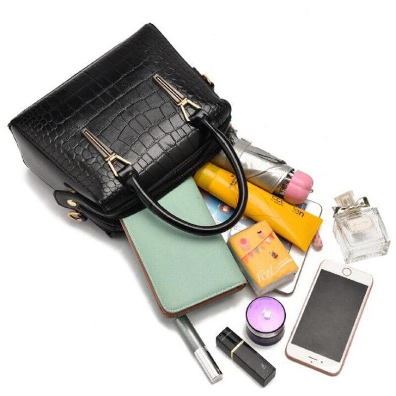 Fashion Women Handbags Ladies Messenger Bags Crocodile Pattern Female Crossbody Bag Shoulder Bolsa High Quality Ladies Handbags