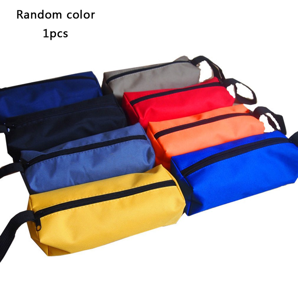 Kit Small Canvas Thicken Parts Package Multi-function Repair Kit Electrician Bag Tool Storage Bag Durable