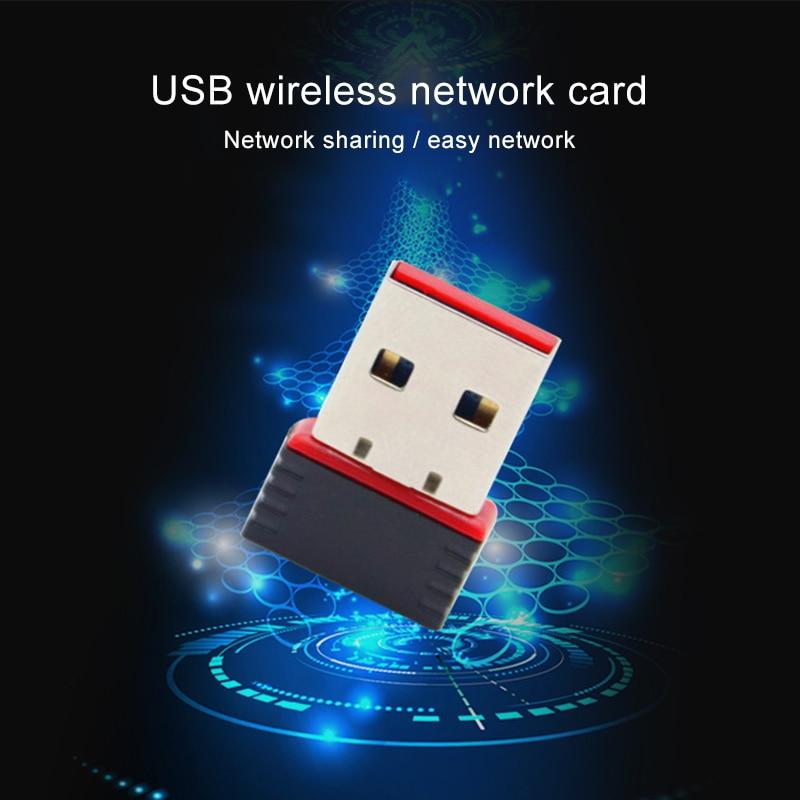 Wireless Adapter 1pc USB WIFI Adapter Mini Fast Speed LAN Card RTL8188 150M SGA998