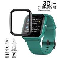Película protectora curvada 3D para Huami Amazfit GTS2, Mini Protector de pantalla completa GTS 2
