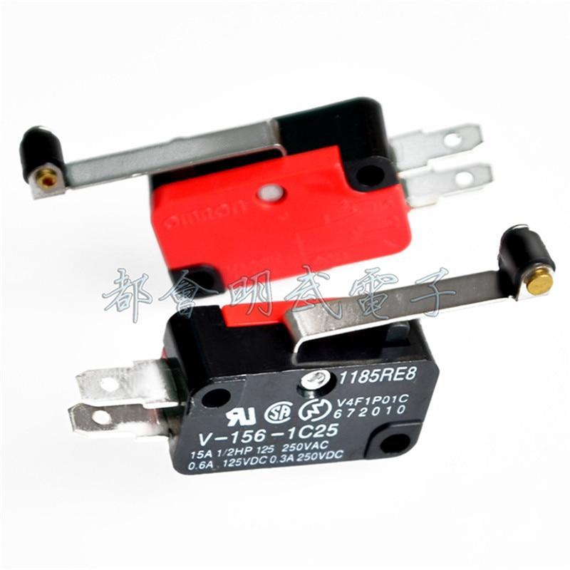 Szliyands V-156-1C25 SPDT Roller Lever Micro Switch 10PCS