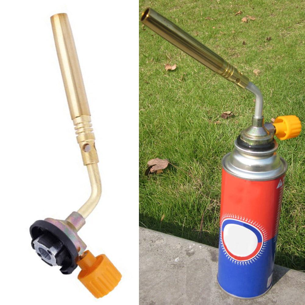 Gas jet flame burner gun fire lighter gas torch for outdoor picnic campinYJCA