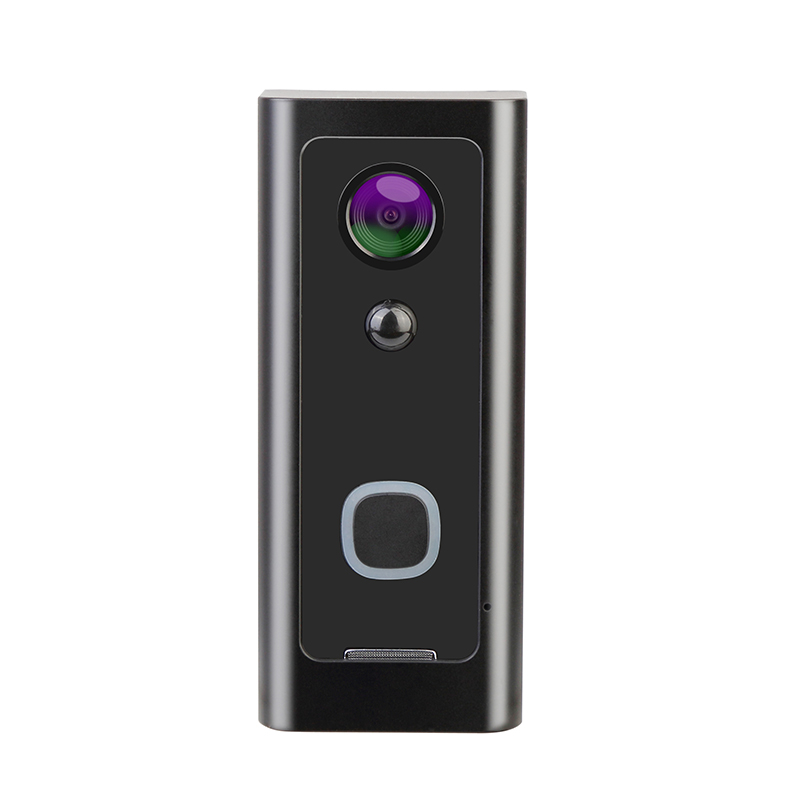 WiFi Smart Video Doorbell, Wireless Intercom Doorbell, Security Home Camera Real-Time Video And Two-Way Talk