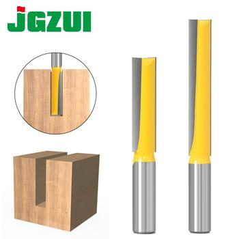 1PC 12mm 1/2inch Shank Long Cleaning Bottom Engraving Bit Solid Carbide Router Bit Woodworking Tools CNC Milling Cutter Endmill