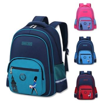 2 Size Children Cute Design Cool Backpack Boys Girls Primary bookbag Kids Kindergarten Schoolbag Satchel Mochila Infantil cute kids satchel with polka dot and cartoon shape design