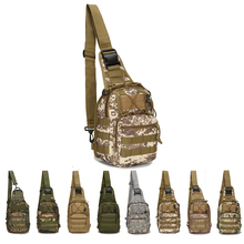 Military Tactical One Shoulder Bag Outdoor Travel Backpack Waterproof Hiking Camping Backpack Hunting Camouflage Army Bags outdoor military bag army tactical backpack molle waterproof camouflage rucksack pack hunting sports hiking camping shoulder bag