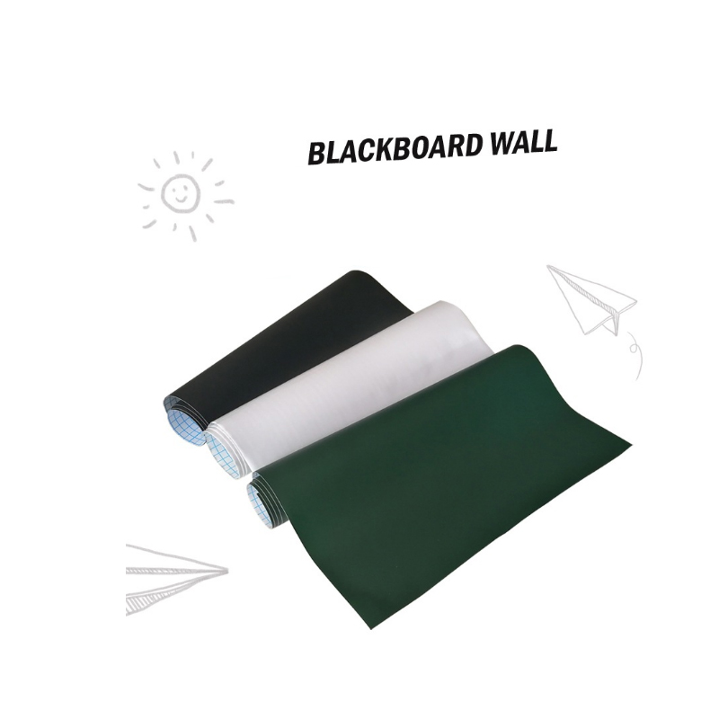 Home office Blackboard Sticker Rewritable Child Teaching Graffiti Wall Art Decor Decal Self-adhesive Removable Whiteboard Sticke