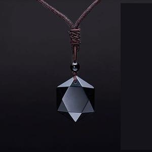 Black Obsidian Six Stars Lucky