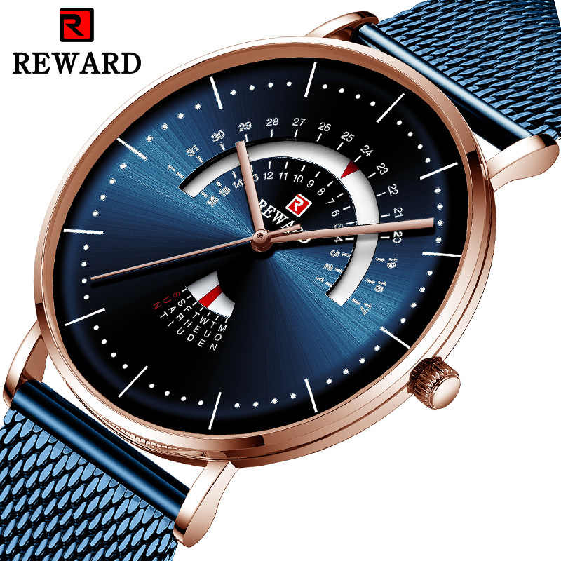 Mens Watches Fashion Automatic Date Quartz Watch Men Gold Steel Business Mens Creative Watches Brand Clock Relogio Masculino