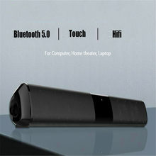 Soundbar Home Theater Sound Bar Speaker Komputer BOOMBOX Radio HI FI Speaker Full Range Speaker Kotak Musik Speaker Loudspeaker(China)