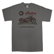 Indian Scout USA Modello 101 Moto Classic Biker t-shirt donna t shirt(China)