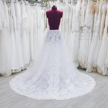 Detachable Bridal-Skirt Lace