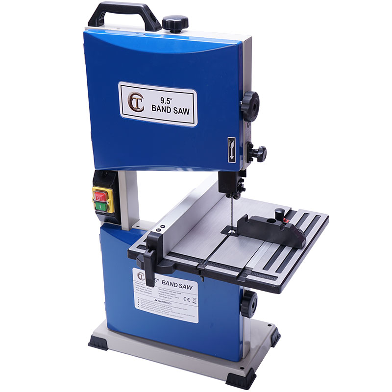 9.5-inch Multifunctional Woodworking Band Saw Machine Small Curve Saw 220V